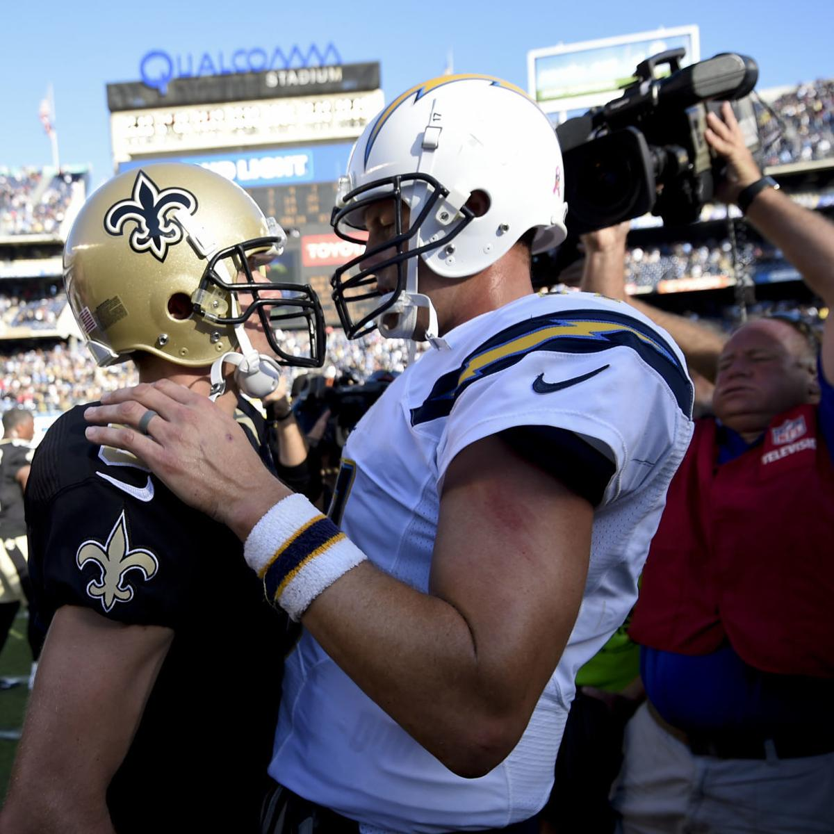 d06b3e61 Forever linked by Chargers past, Drew Brees and Philip Rivers now ...