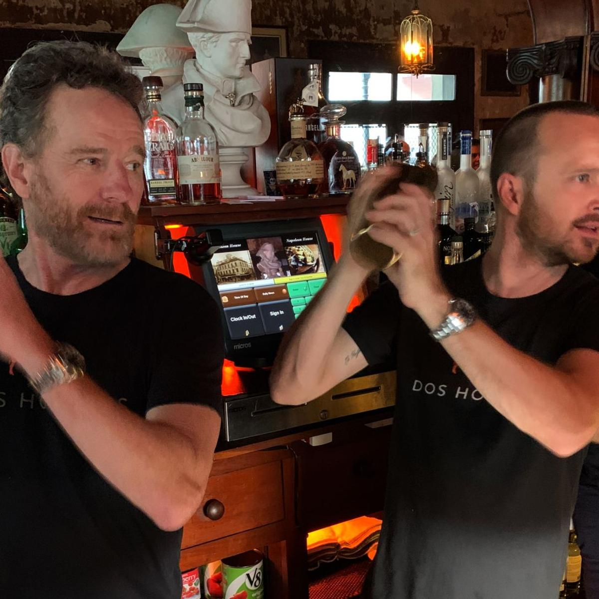 What happens when 'Breaking Bad' stars Bryan Cranston and
