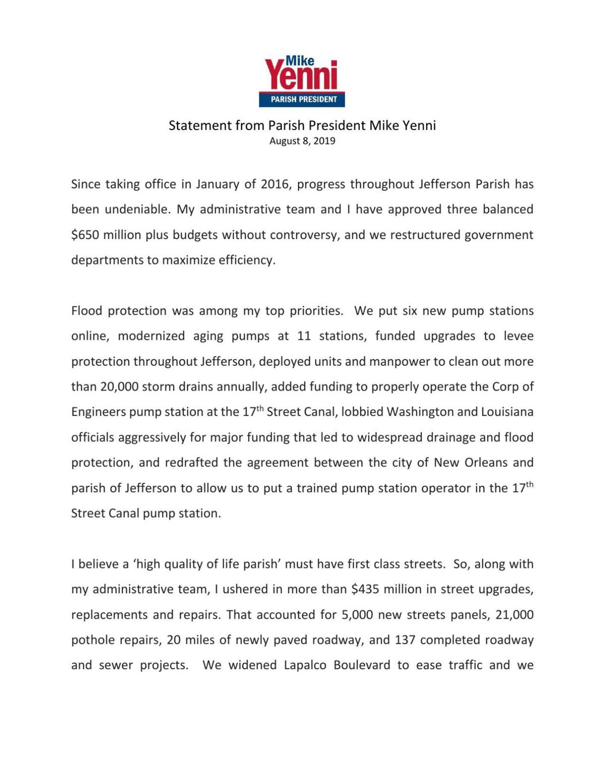 Yenni statement     nola com