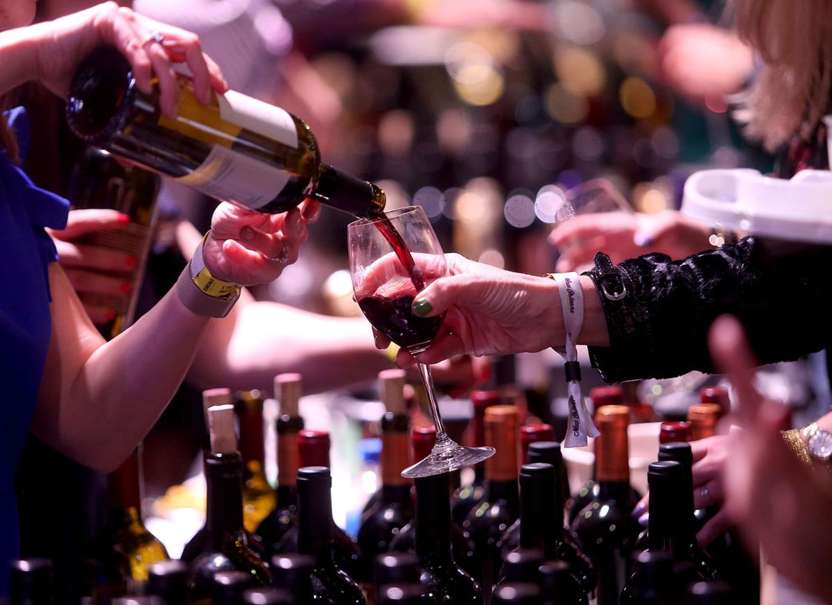 Friday evening Grand Tasting at NOWFE