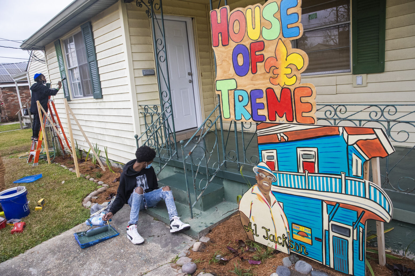 Baby Dolls, students join Carnival 'house float' movement with ode to Treme