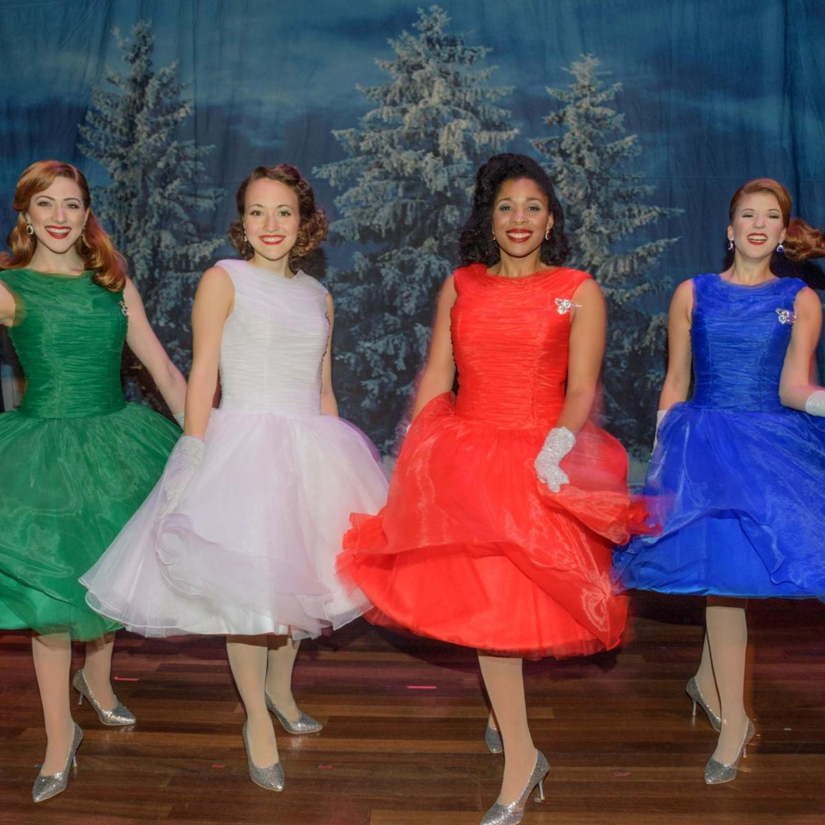 Ww2 Christmas Day.Belles On Fetching Foursome Stages Christmas Show At The