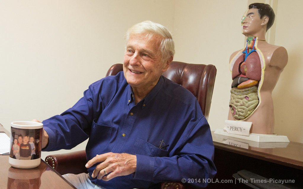After 40 years in office, New Orleans Coroner Frank Minyard is moving on
