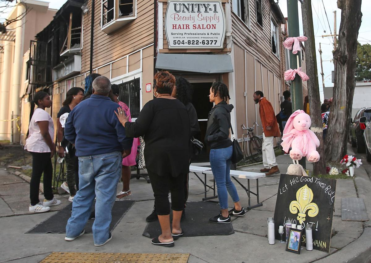 Vigil for woman who died from injuries after being rescued from Broadmoor salon fire