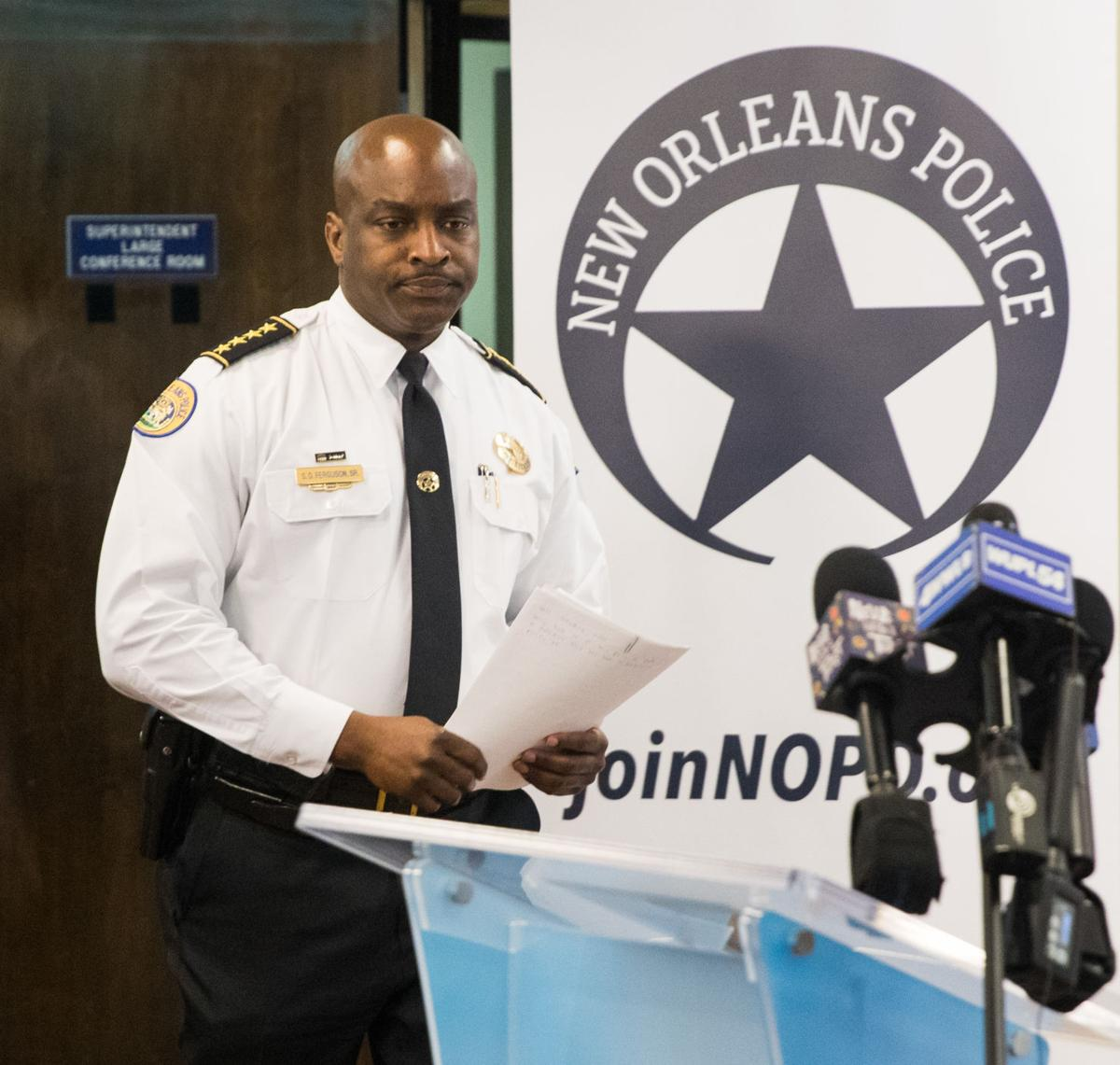 NOPD Superintendent Shaun Ferguson