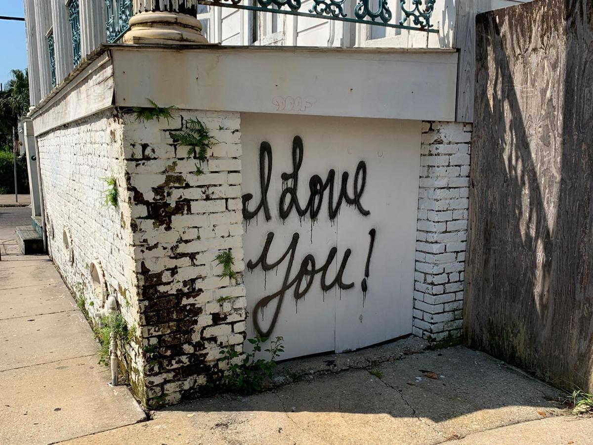 Suicide graffiti