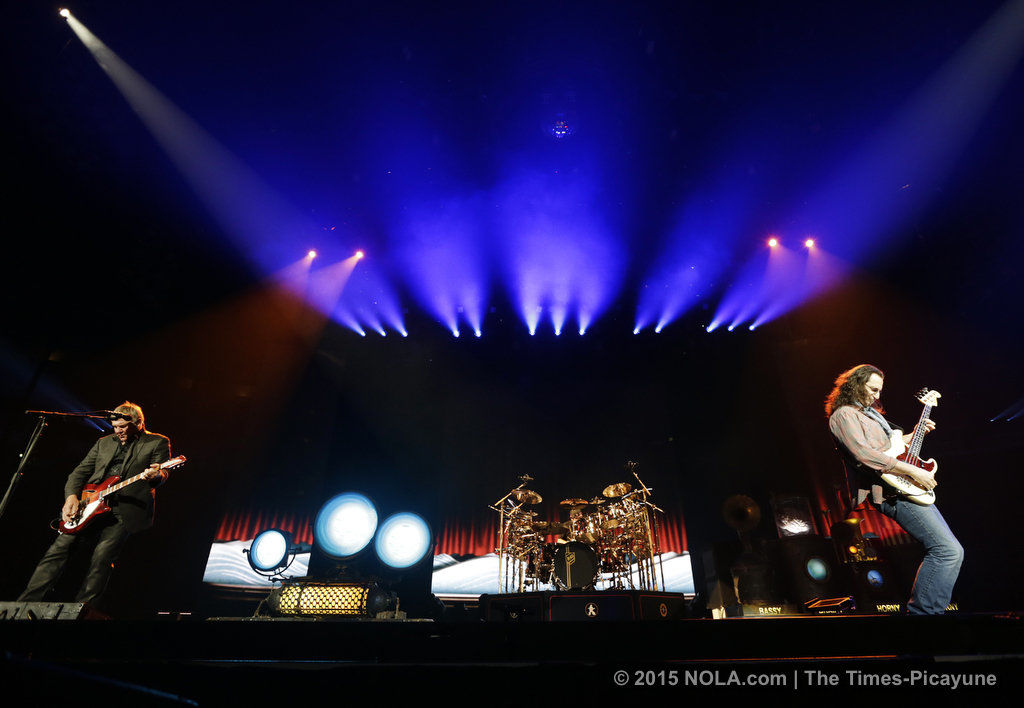 Rush's R40 Live at New Orleans' Smoothie King Center: First look