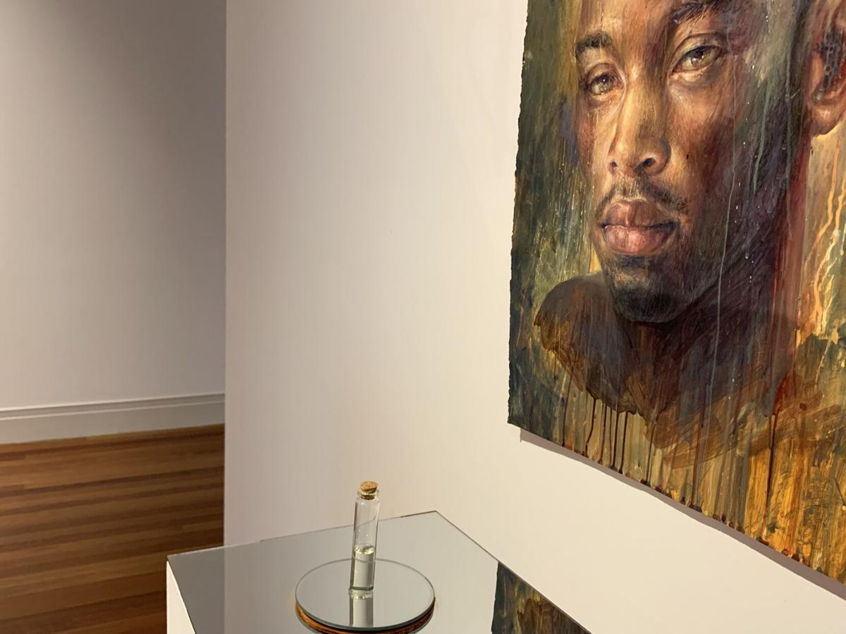 Louisiana Contemprary 2020 - Keith Perelli's painting titled 'Tears'.jpeg