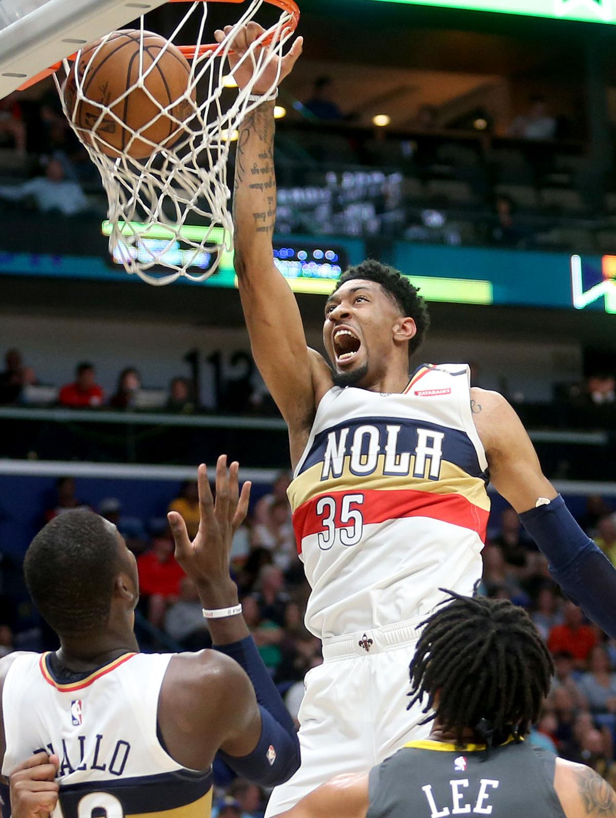Golden State Warriors at New Orleans Pelicans 2019