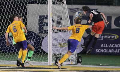 Catholic's Alex Leonard scores winning goal