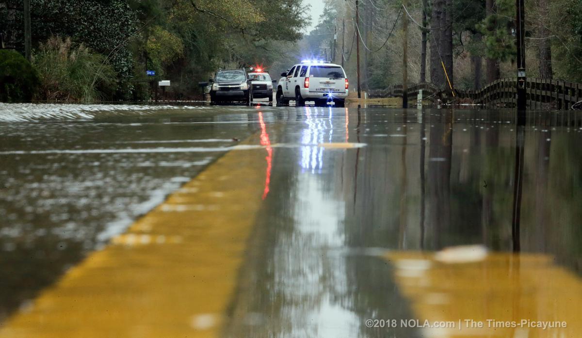 Flash flood warning issued for St. Tammany Parish on Saturday evening
