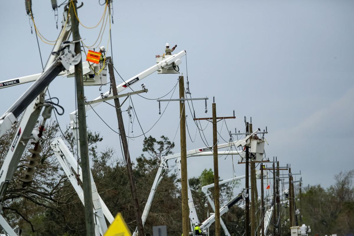 Hurricane Ida season file photo entergy