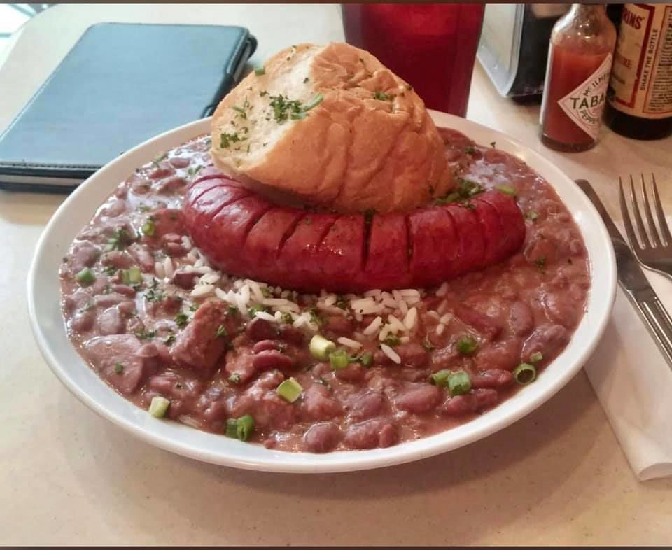 Welty's Red Beans with Smoked Sausage