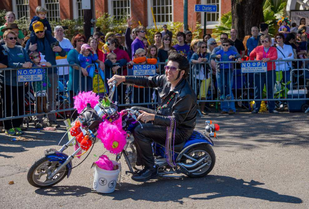 Photos: 'Throw me somethin' Ms.!' Krewe of Iris a hit in New Orleans _lowres