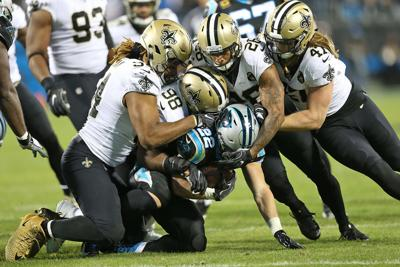 Stopping at nothing: All 3 levels of Saints defense work together to shut down run game