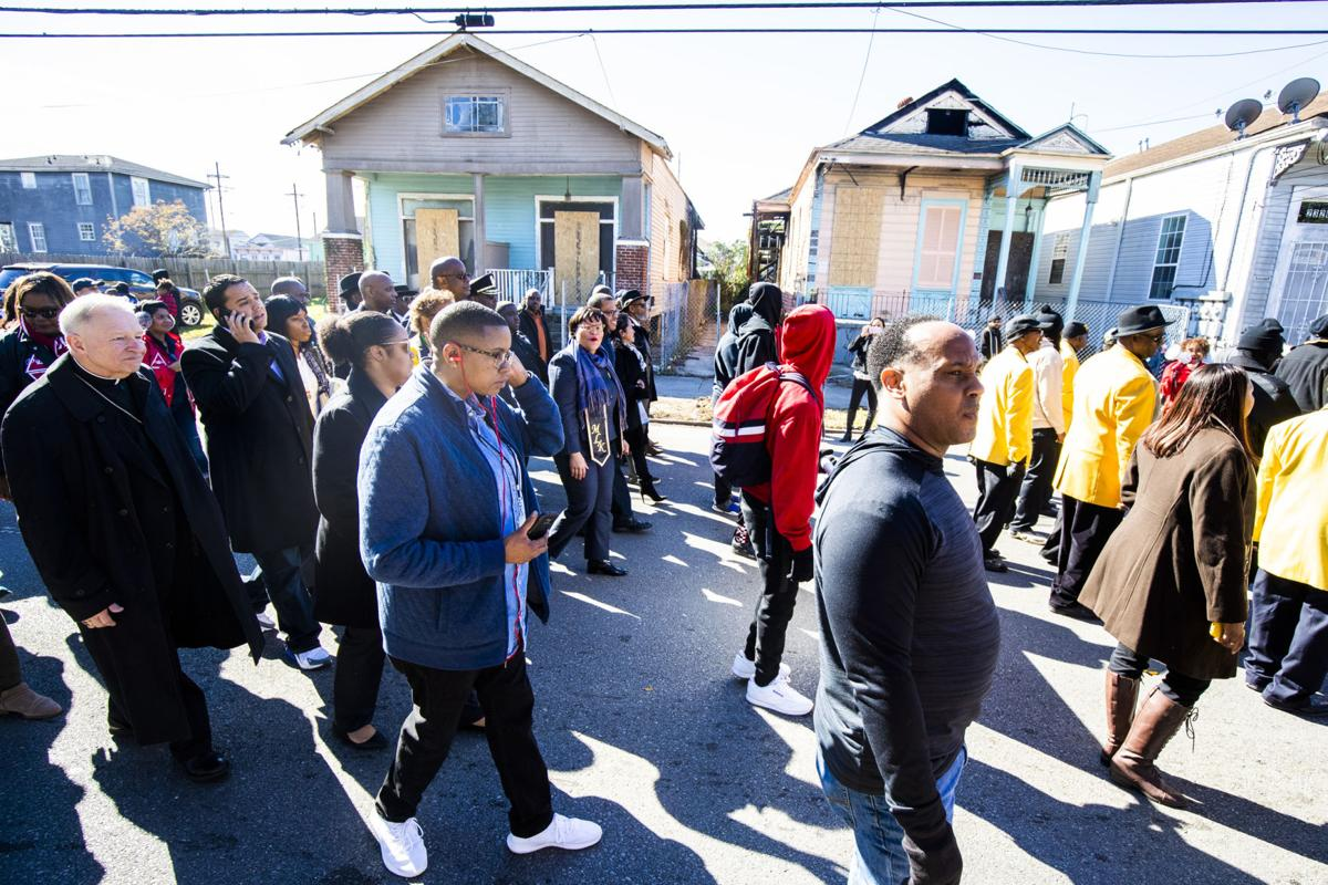Martin Luther King Jr. Day parade in New Orleans 2019