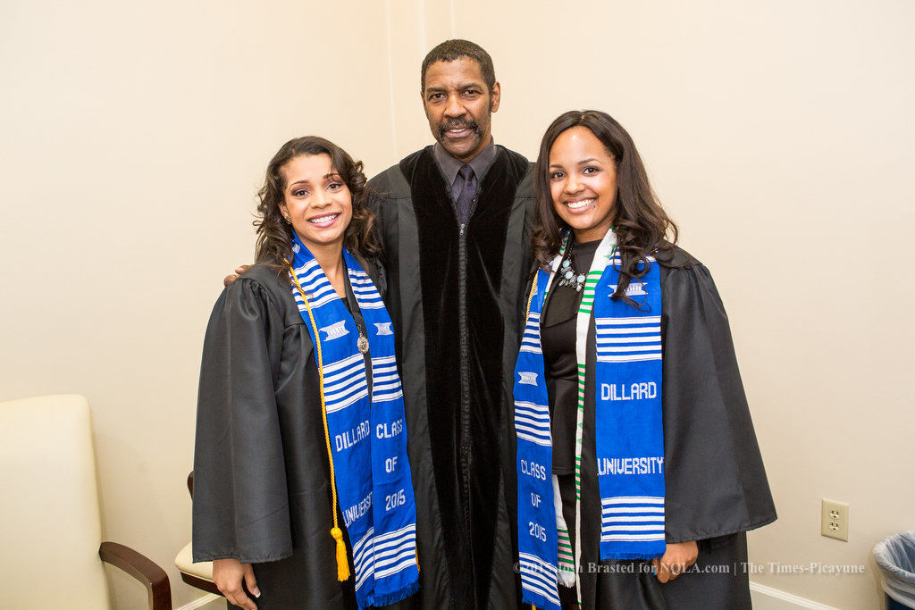 Denzel Washington gives Dillard University students four life goals in commencement speech
