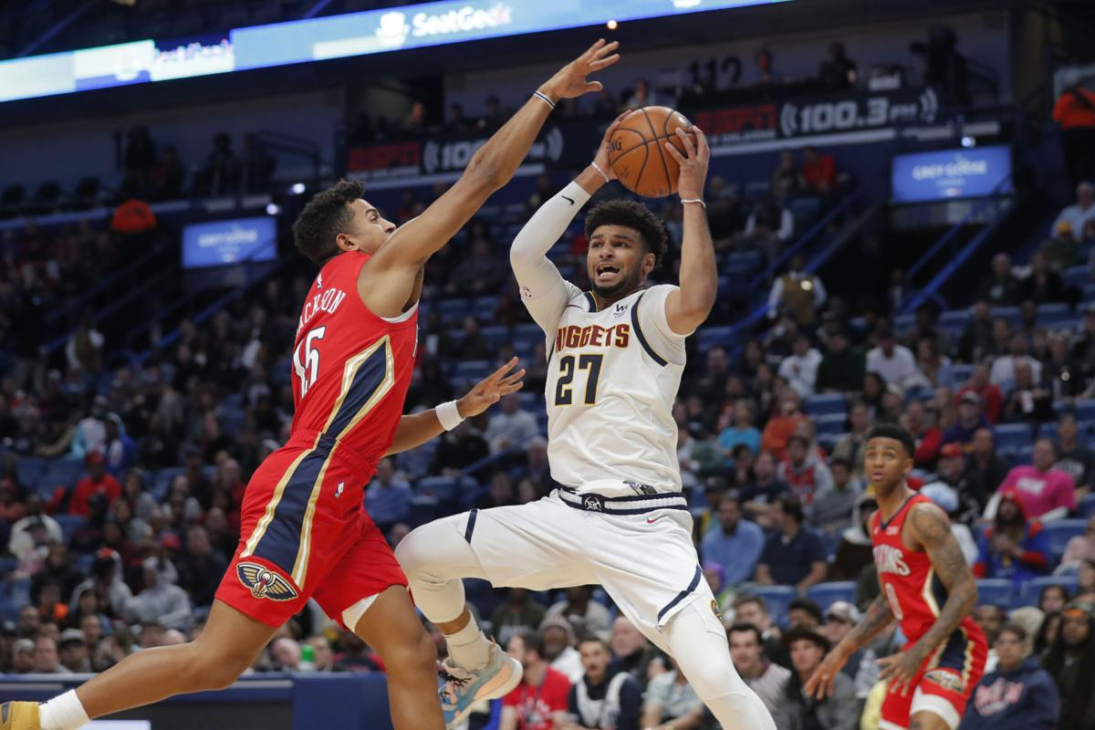 Nuggets Pelicans Basketball