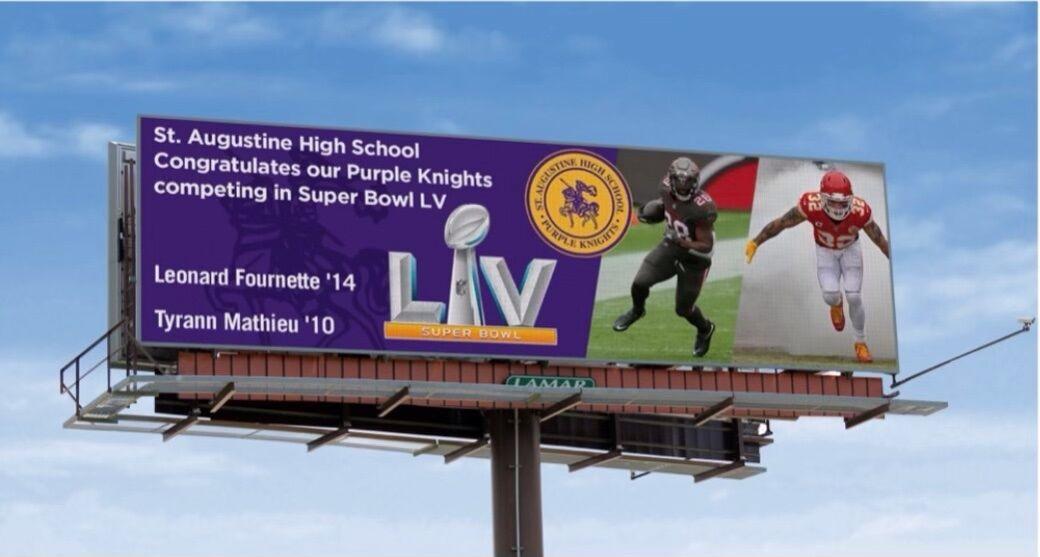 St. Augustine billboard