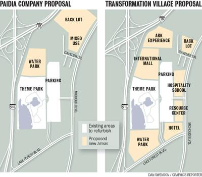 six flags new orleans map Six Flags Redevelopment Committee Dismisses Jazzland Revival six flags new orleans map