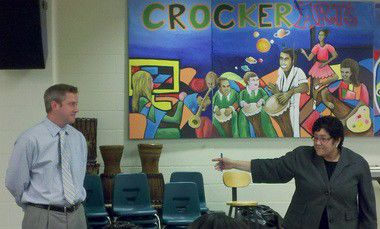 Changes at Crocker elementary school part of a partnership, officials say