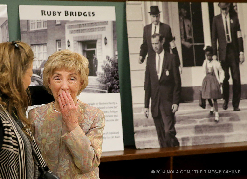 New Ruby Bridges statue inspires students, community