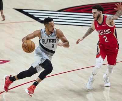 Pelicans Trail Blazers Basketball