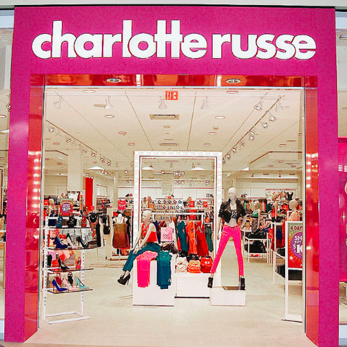 Charlotte Russe is closing all stores and going out of