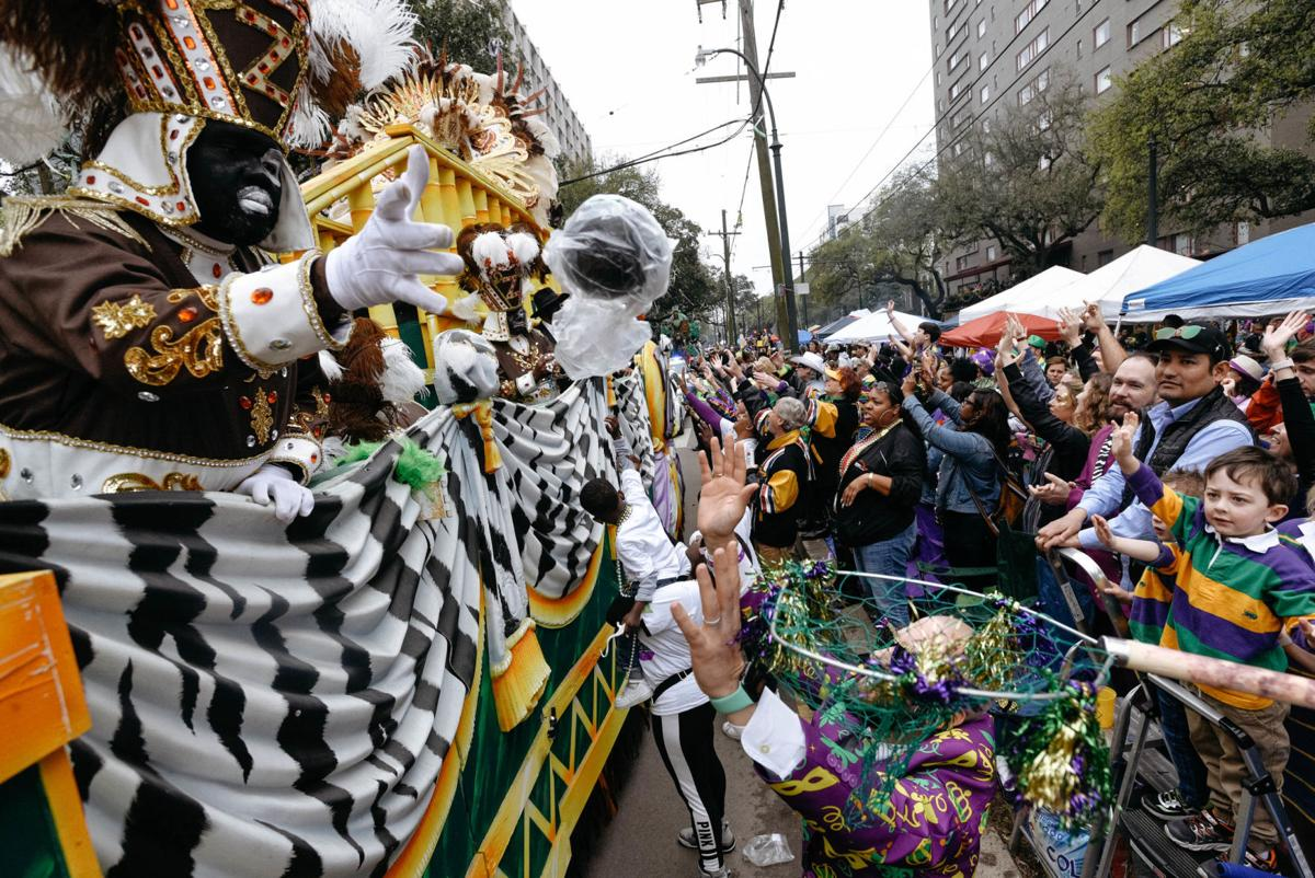 Zulu parades on St. Charles Avenue