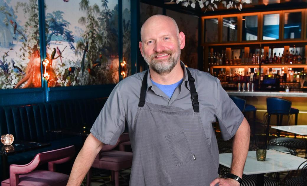 Chris Lusk opens Peacock Room and a casual cafe at Kimpton Hotel Fontenot