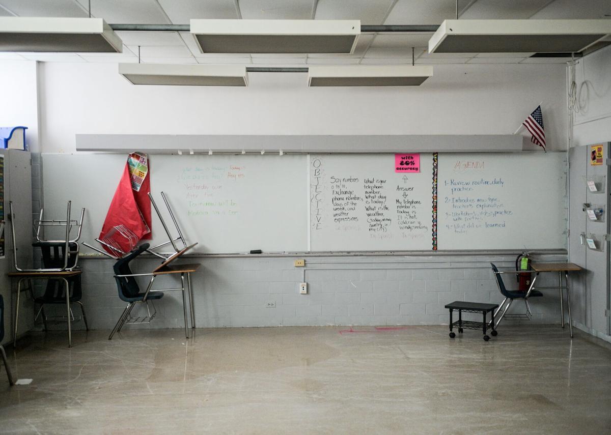 Jefferson Parish schools after Hurricane Ida
