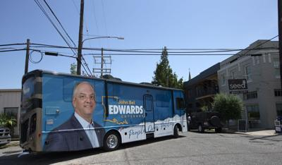 John Bel Edwards campaign stop