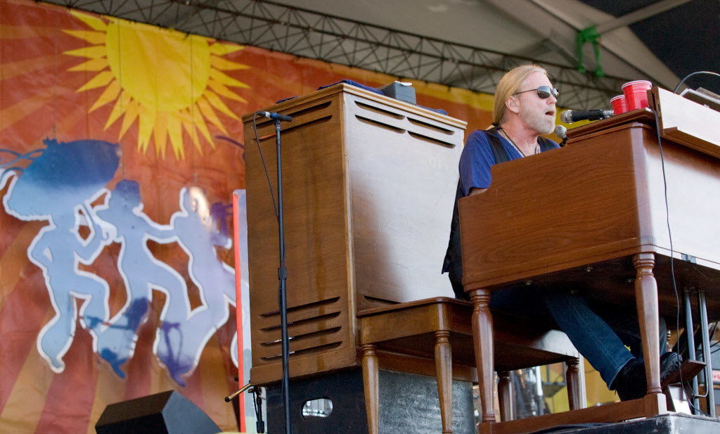 Gregg Allman: When was his first New Orleans appearance?
