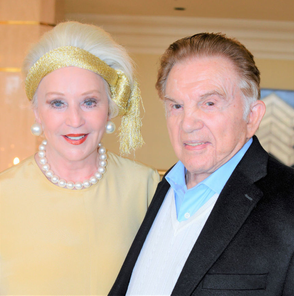 Angela Hill hosts 100th birthday celebration for husband Irwin Marcus: See photos
