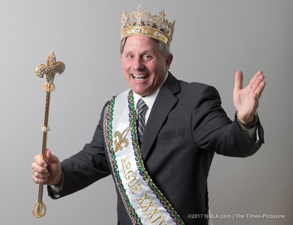 Meet the exuberant Krewe of Argus King XXXIV Michael Maenza