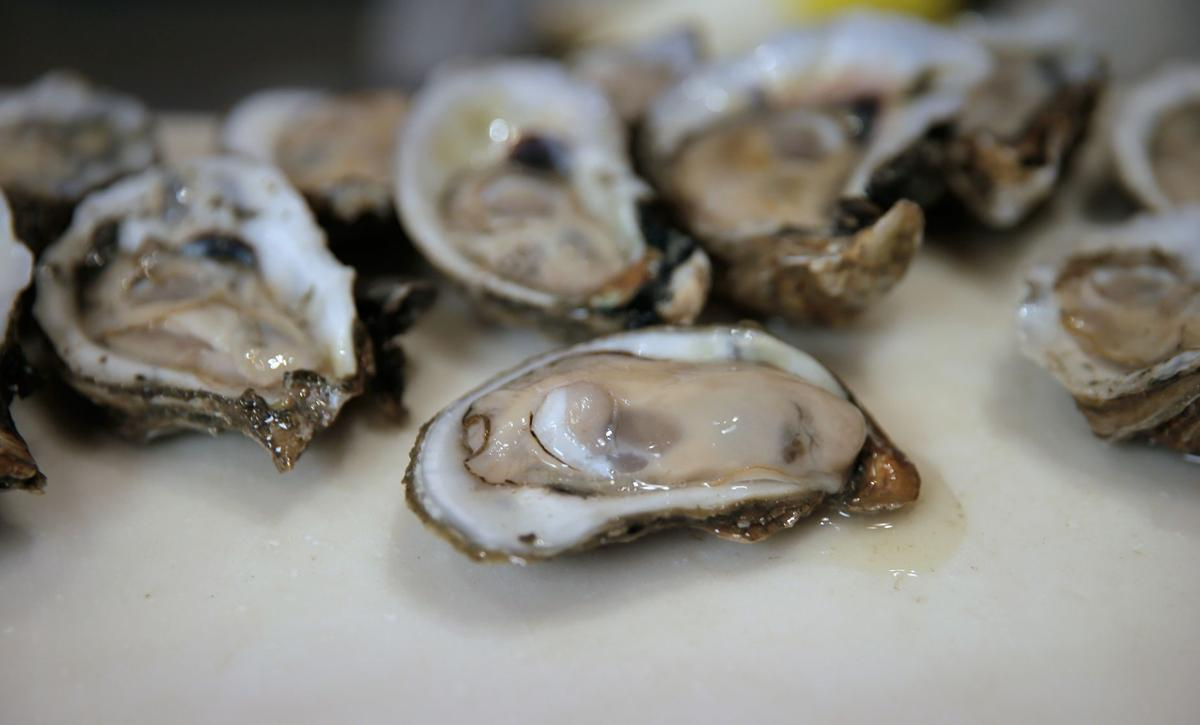 "Shucking oysters with Thomas ""Uptown T"" Stewart"