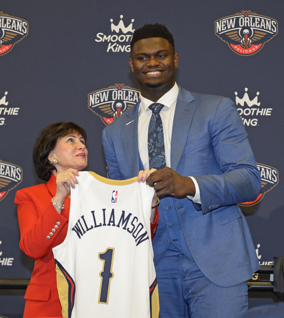 Zion All Smiles In New Orleans Pelicans Star Talks Family