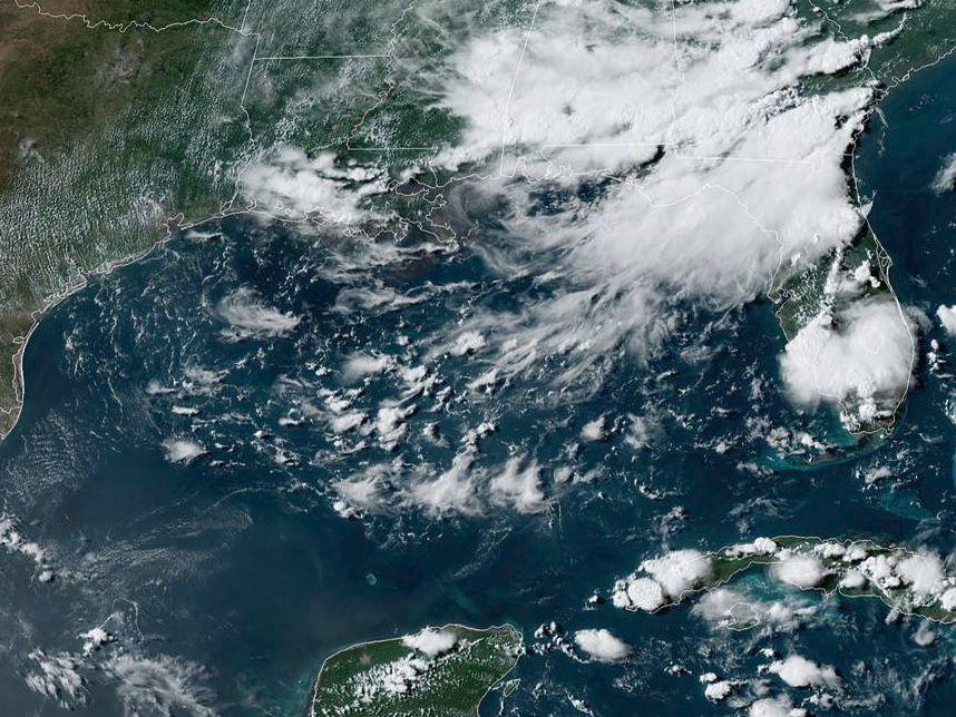 NOAA GOES East Satellite photo on July 19, 2019