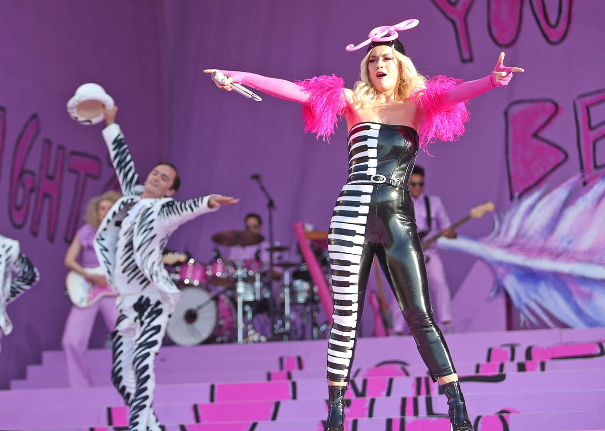 Katy Perry at Jazz Fest 2019