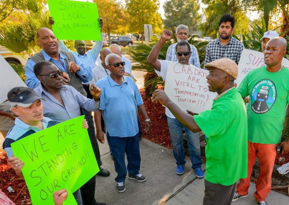 Jefferson Parish cab drivers ask officials to block locals from