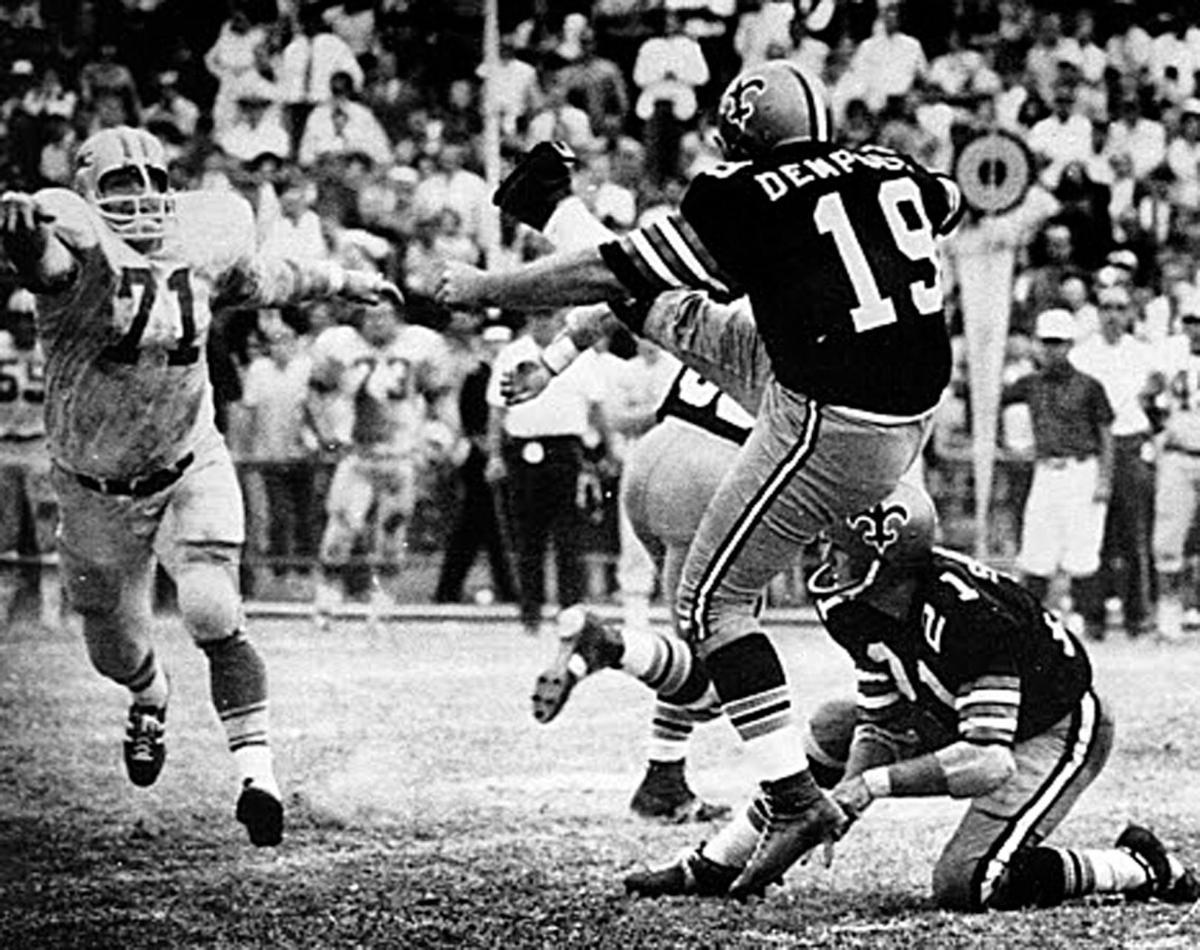 It's (still) good!: Remembering Tom Dempsey's historic kick