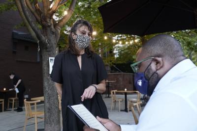 File photo of coronavirus outdoor dining at restaurants