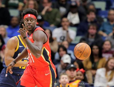 Report: Jrue Holiday talks new Pelicans role, '#dadlife' nail polish, teammates as roommates, more   Pelicans   nola.com