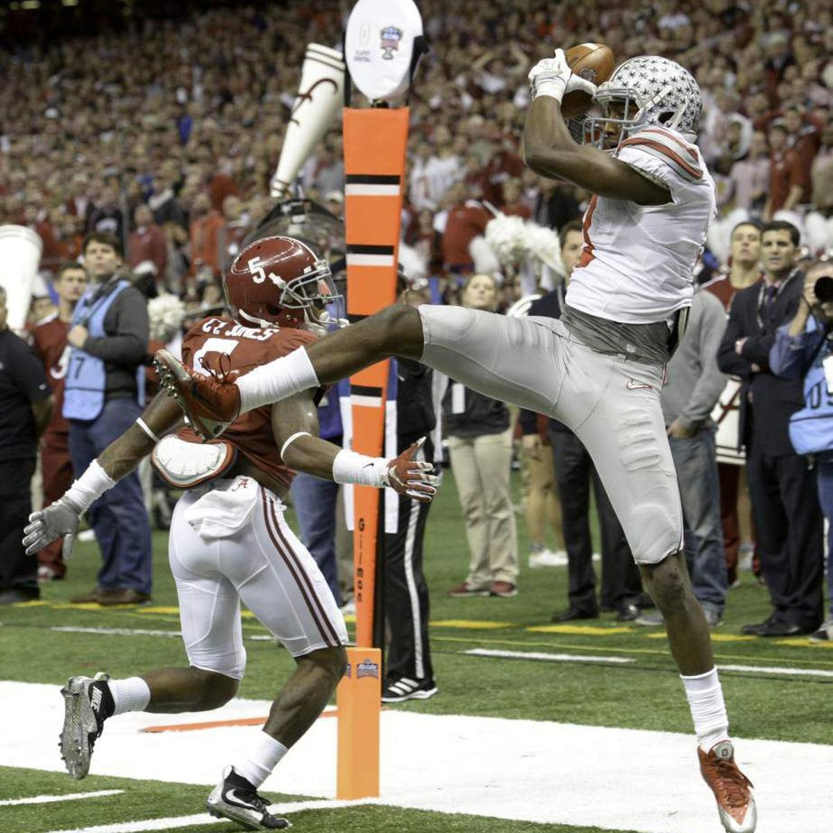 60c4774c4 I wouldn't have chosen anywhere else:' Ohio State's Michael Thomas ...