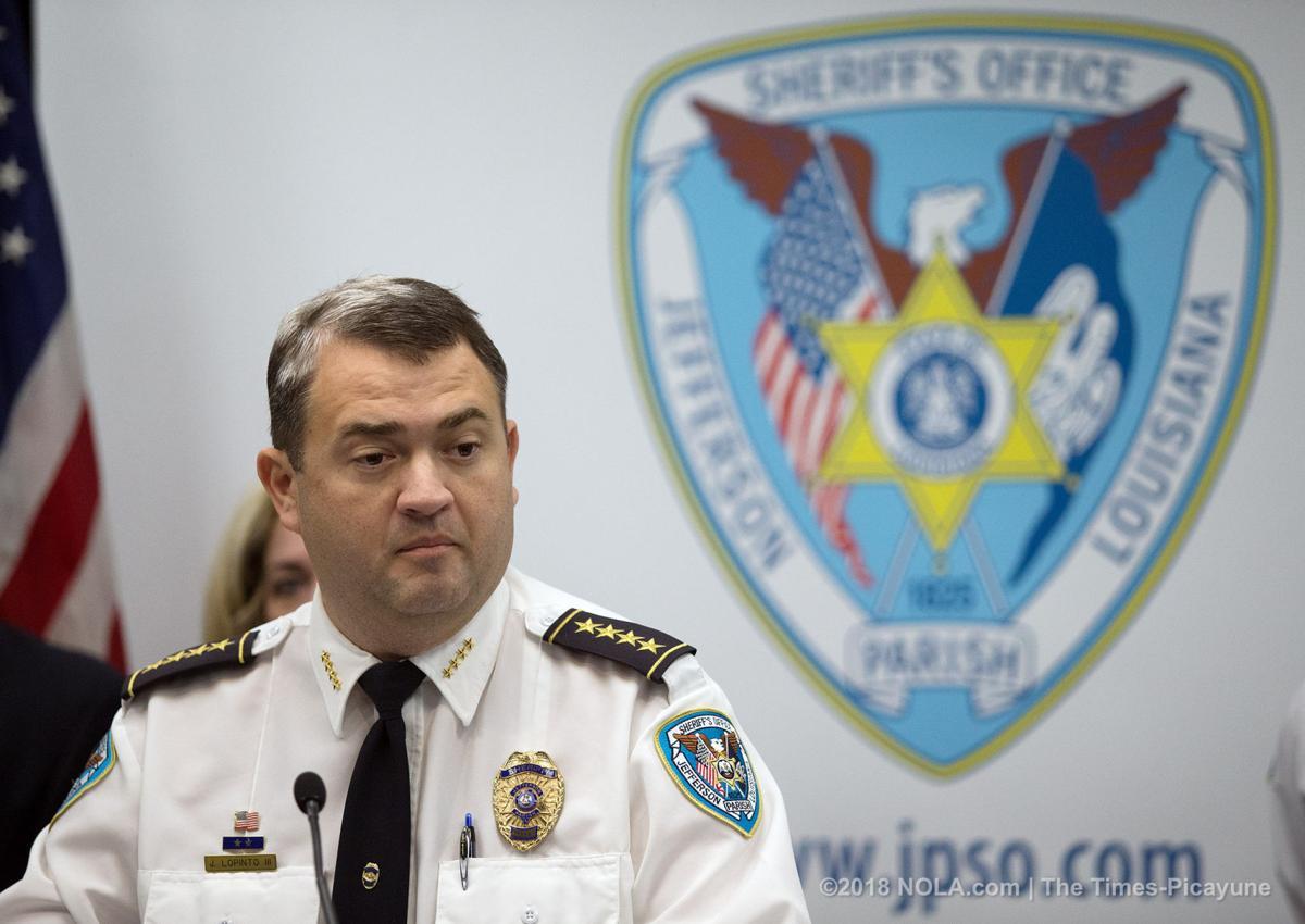 JPSO Sheriff Joe Lopinto gives details of the arrest of Tyronne Louis