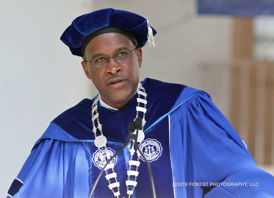 Chance the Rapper urges Dillard's graduates to surpass their predecessors
