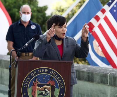 Mayor LaToya Cantrell press conference April 20 2020