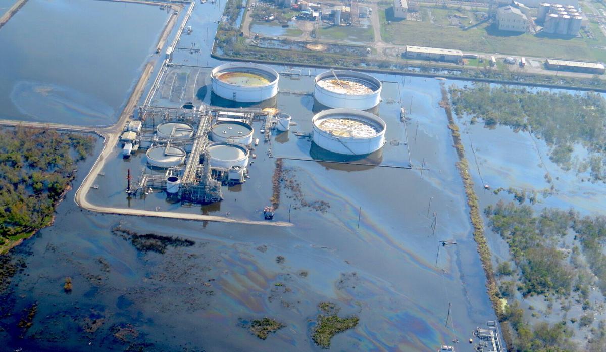 Alliance Refinery sheen