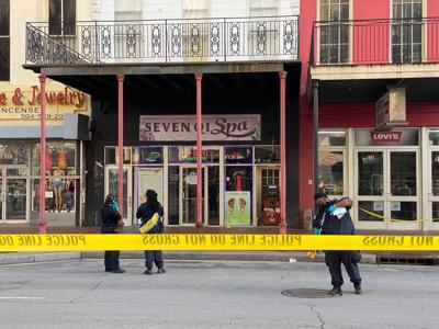 Canal Street homicide, May 5, 2021