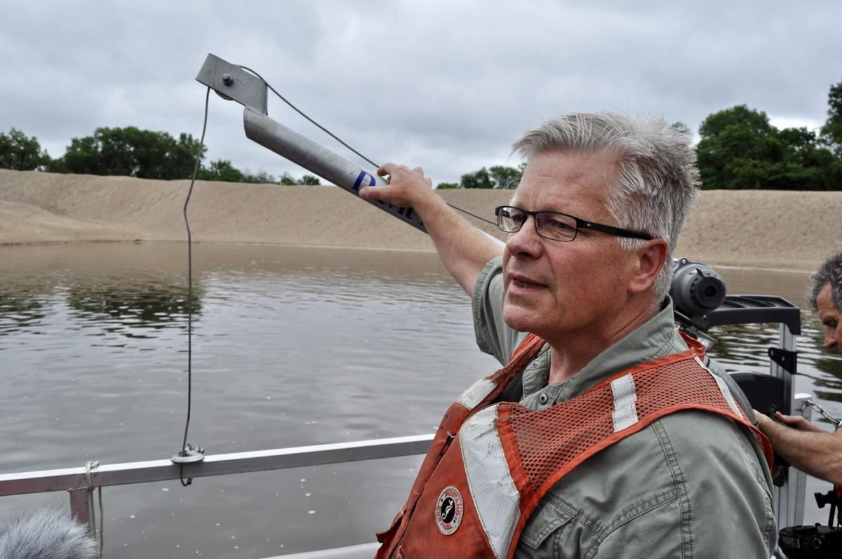 Dredging, dams and other river controls starve places downriver of much-needed sediment